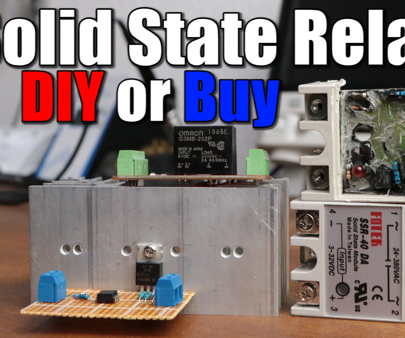 Make Your Own Solid State Relay 4 Steps With Pictures Through An Optocoupler Circuit Electronic Projects