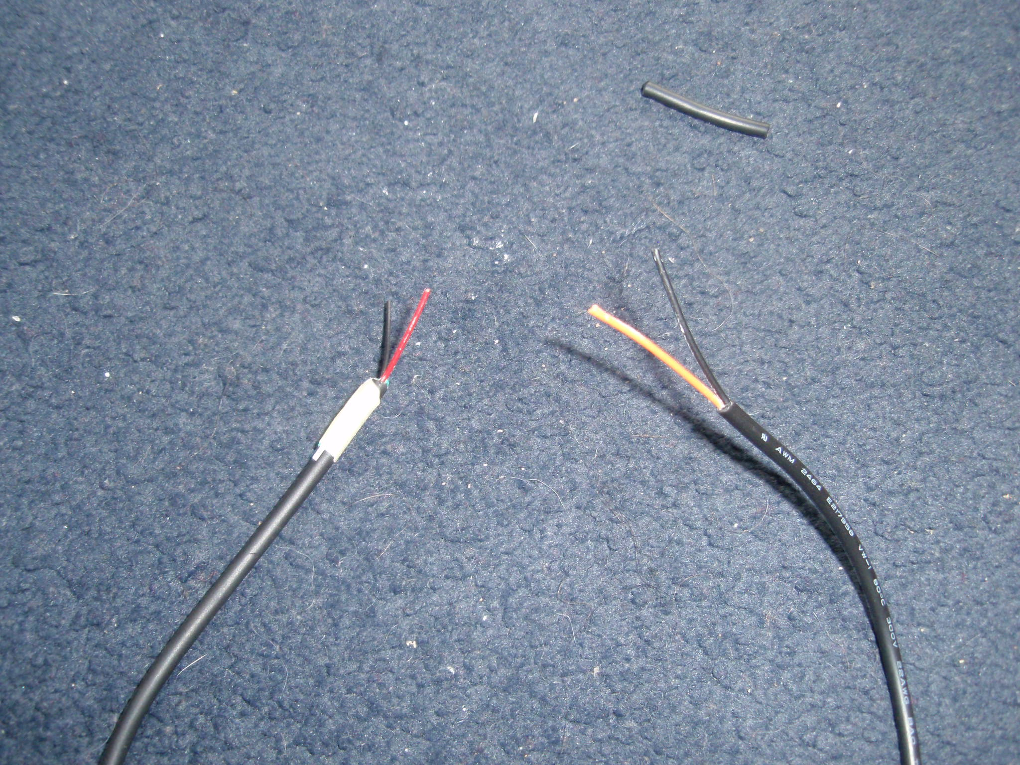 Picture of Preparing the Wires
