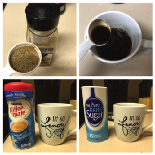 Picture of Mix Ingredients Into the Coffee