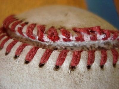Cut Open the Baseball