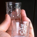 Color Glass Etching - Constellation Dice Tumbler