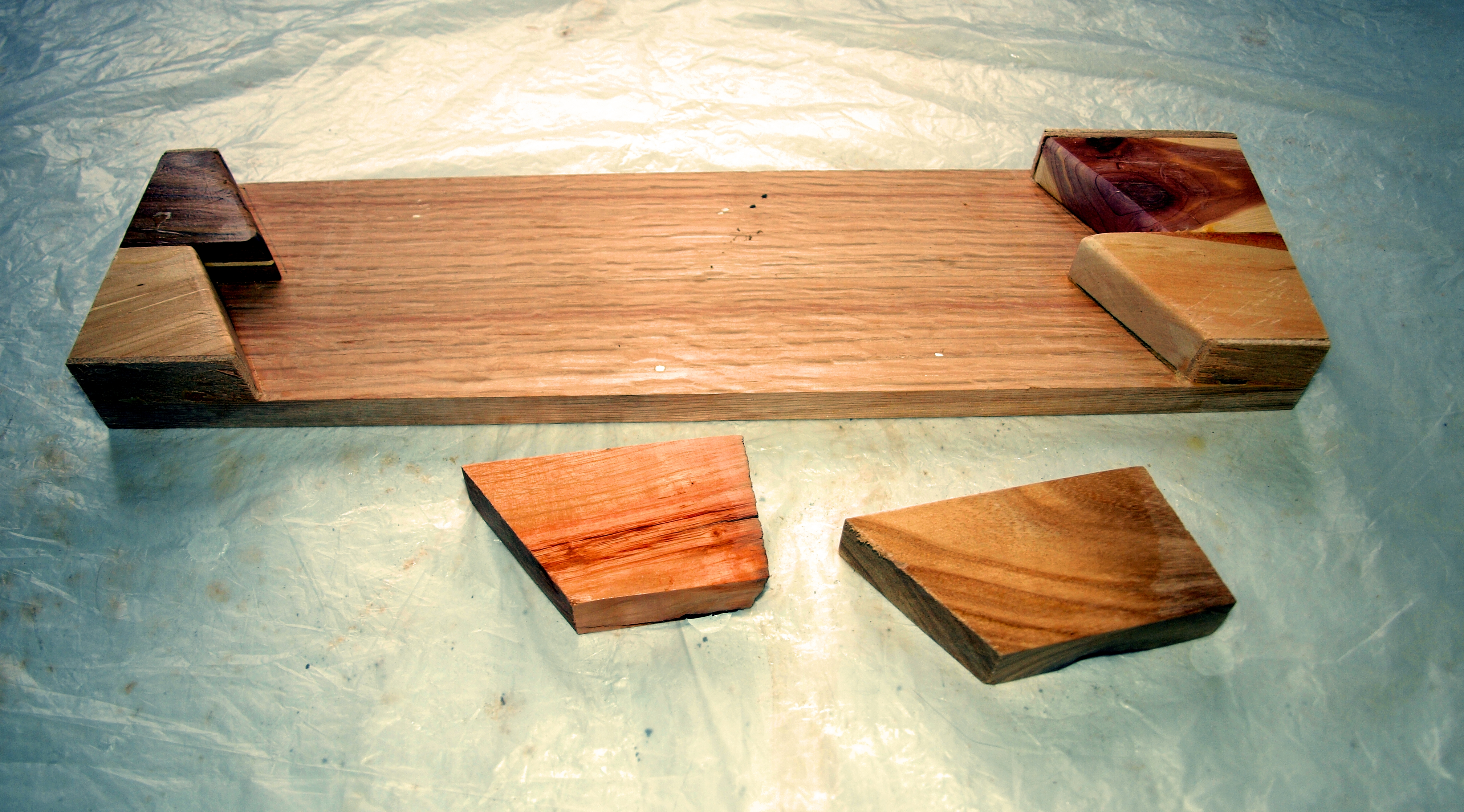 Picture of The Trays for the Puzzle Parts