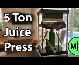 Make a 40$ Cold Juice Press!