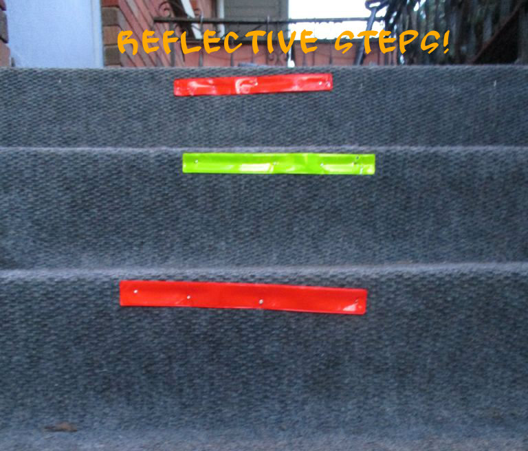 Picture of Reflective Steps!