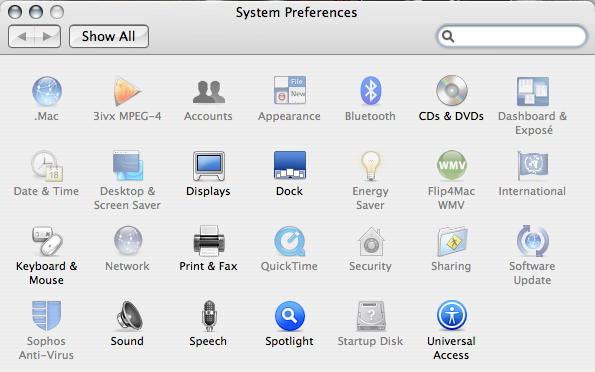 Picture of Unlock Mac OS X System Preferences