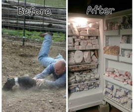 Raising Bacon - Before and After