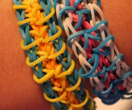 Rainbow loom how-to: Zippy Chain