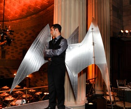 Arduino-controlled, Aluminum Archangel Costume Wings