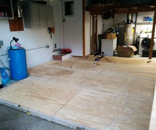 Spruce Up Your Shop: Install a Wood Floor