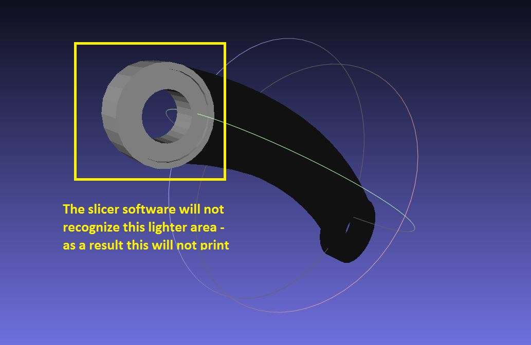 Picture of Slicer Trouble! Why Some Parts of the Model Won't Print!