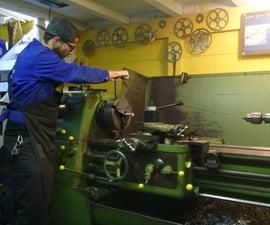 Radius Cutting on the Lathe - Quick Way