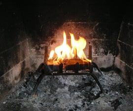 How to make a Coffee Fire Log
