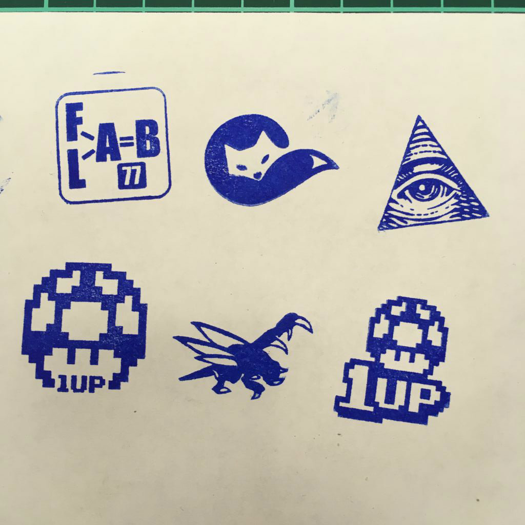Picture of LASER Stamp