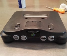 Cleaning and restoring your N64