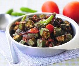 The delicious: Bhindi Fry