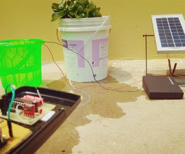 Remote Controlled + Solar Powered Watering System