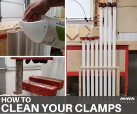How to Clean Glue Off Woodworking Clamps
