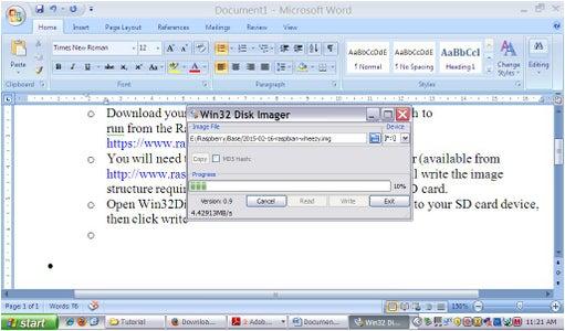SD Card Setup With Windows XP