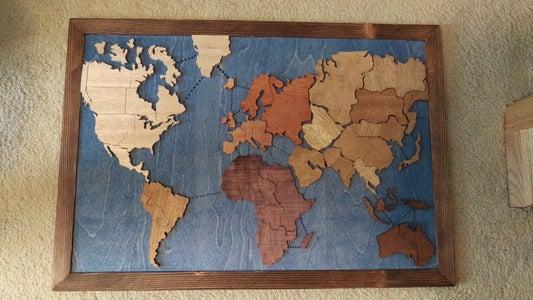 100% Wooden Risk Board From Scrap