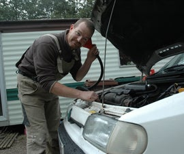 Find an exhaust leak without burning your hands!