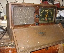 Rebuilding an old AM radio