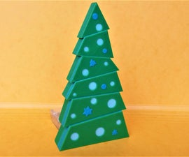 Christmas Tree 3D Printed and Arduino Leds Controled