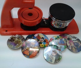 Lego Badges - How to use a badge/button maker