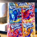DIY Colourful Kool-Aid Jammers Lunch Sack Craft (Learn to Sew Project)