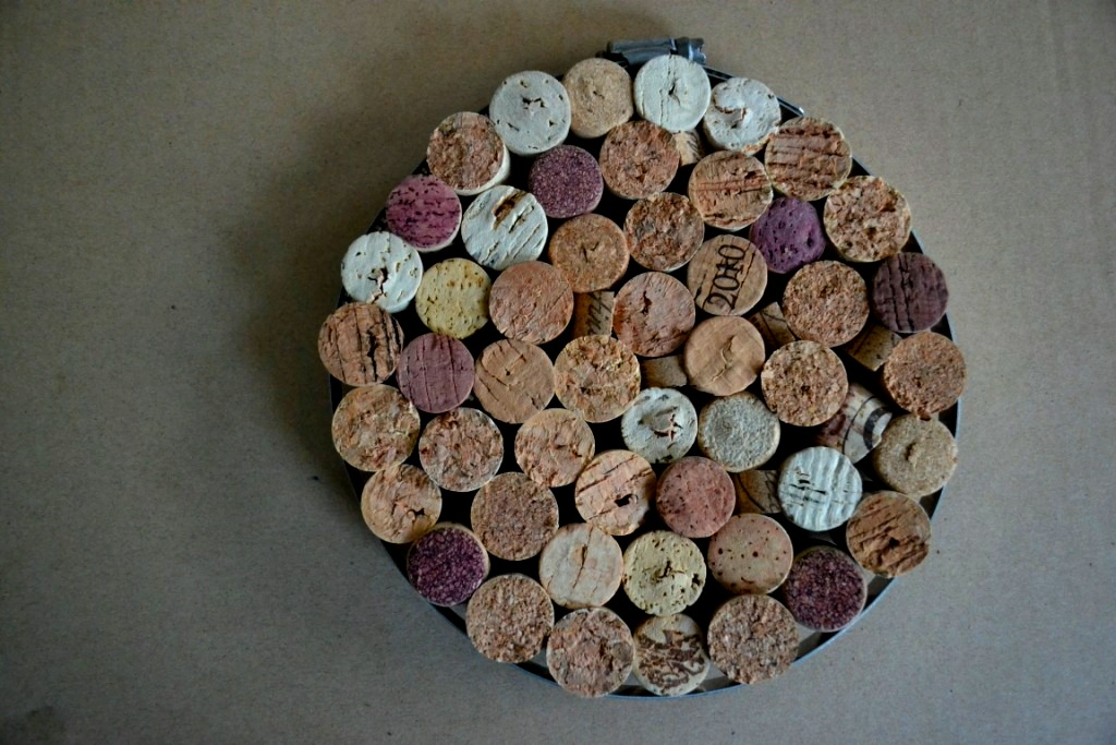 Picture of Salvaged Cork Trivet/Pinboard