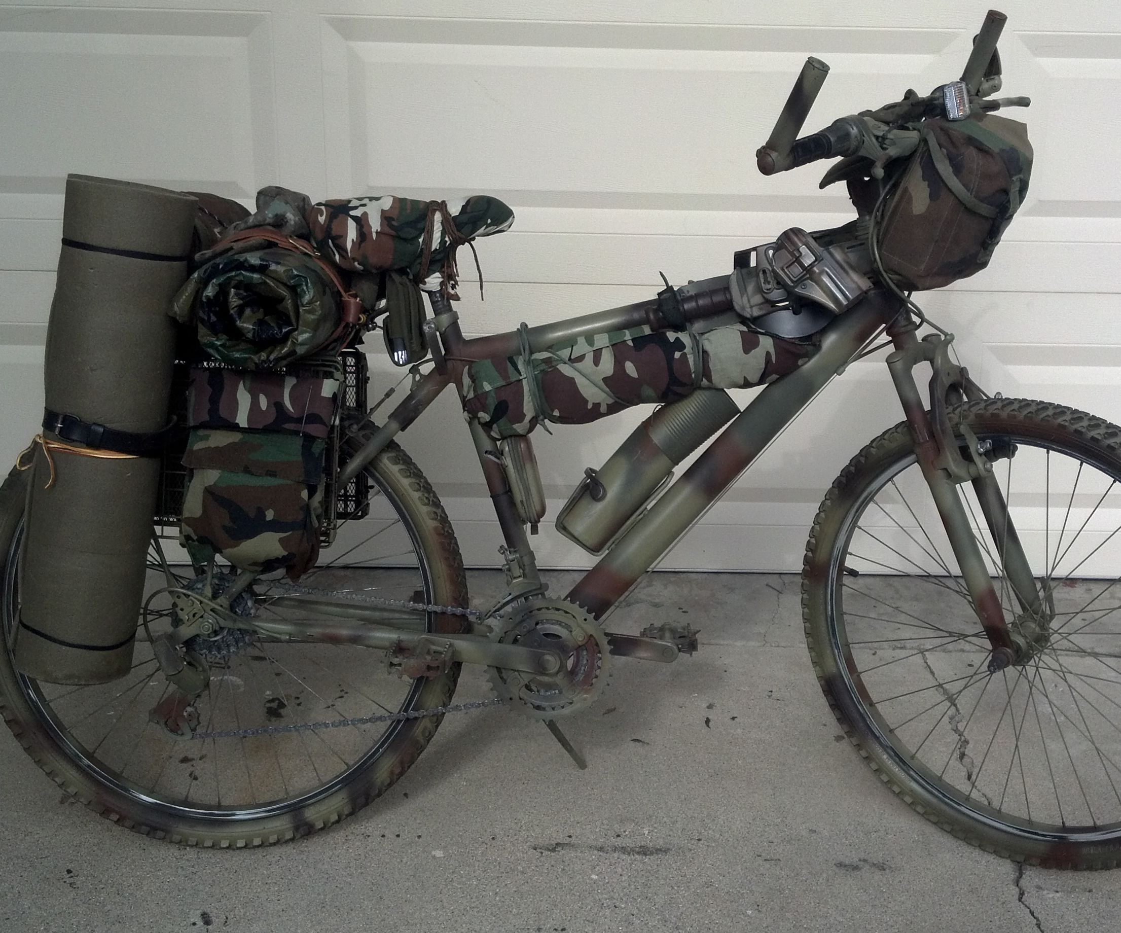 Bug Out Bike - Apocalypse Bicycle: 4 Steps (with Pictures)
