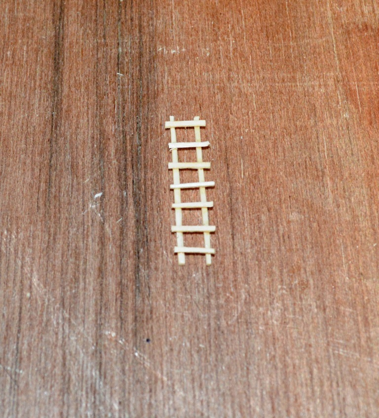 Picture of Ladder, Man and Woman - Assembling the Ladder