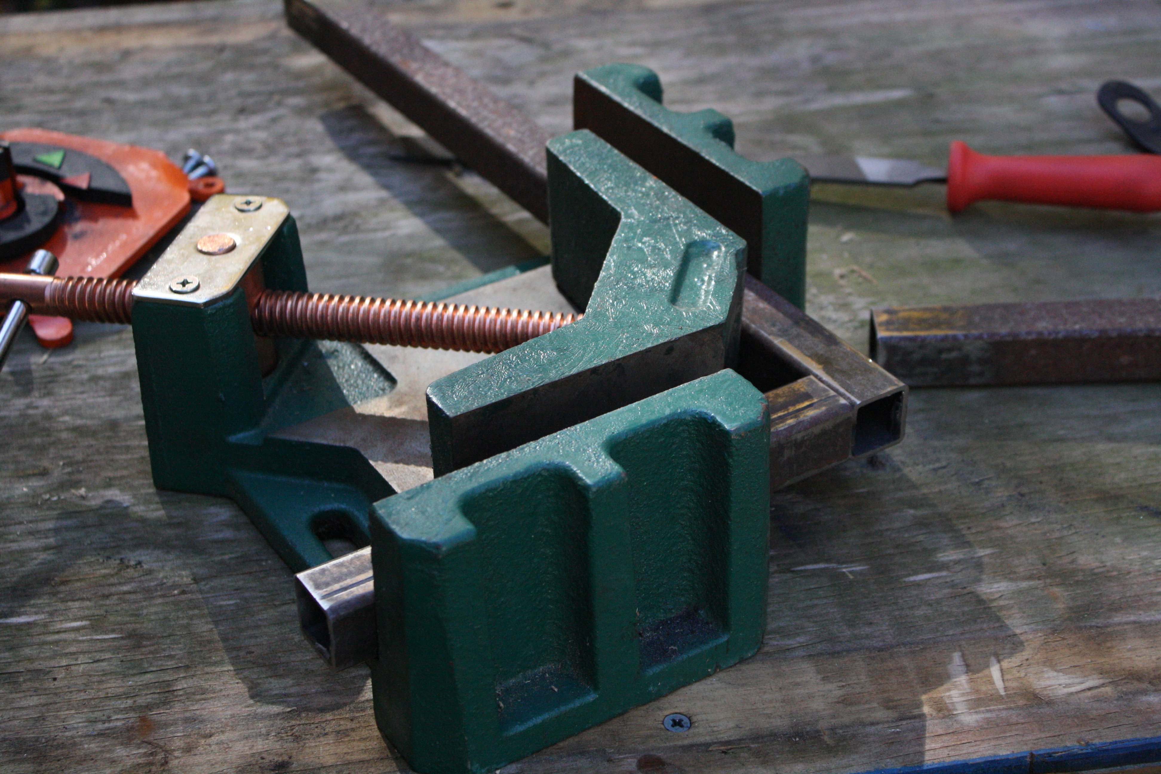 Picture of Cut and Weld the Frame