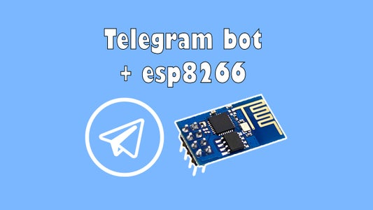 Telegram Bot  Esp8266-001(Arduino UNO or NodeMCU)