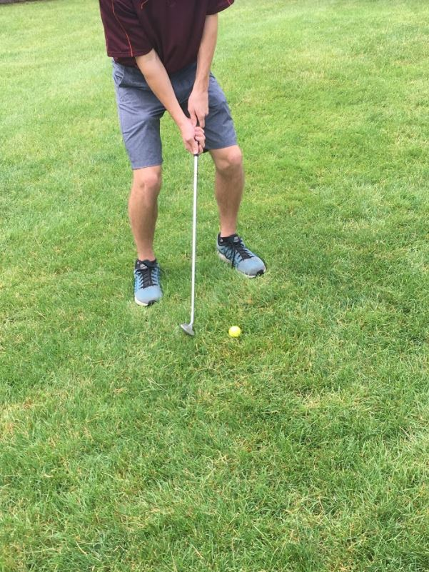 Picture of Address the Ball Differently for a High Chip