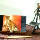 Napkins Decoupage Box - Gift that roar with a wild flavor!