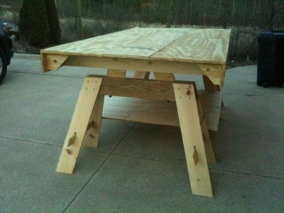 Multi-Functional Portable Workbench