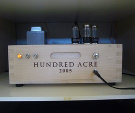 Wine Case Stereo Tube Amplifier
