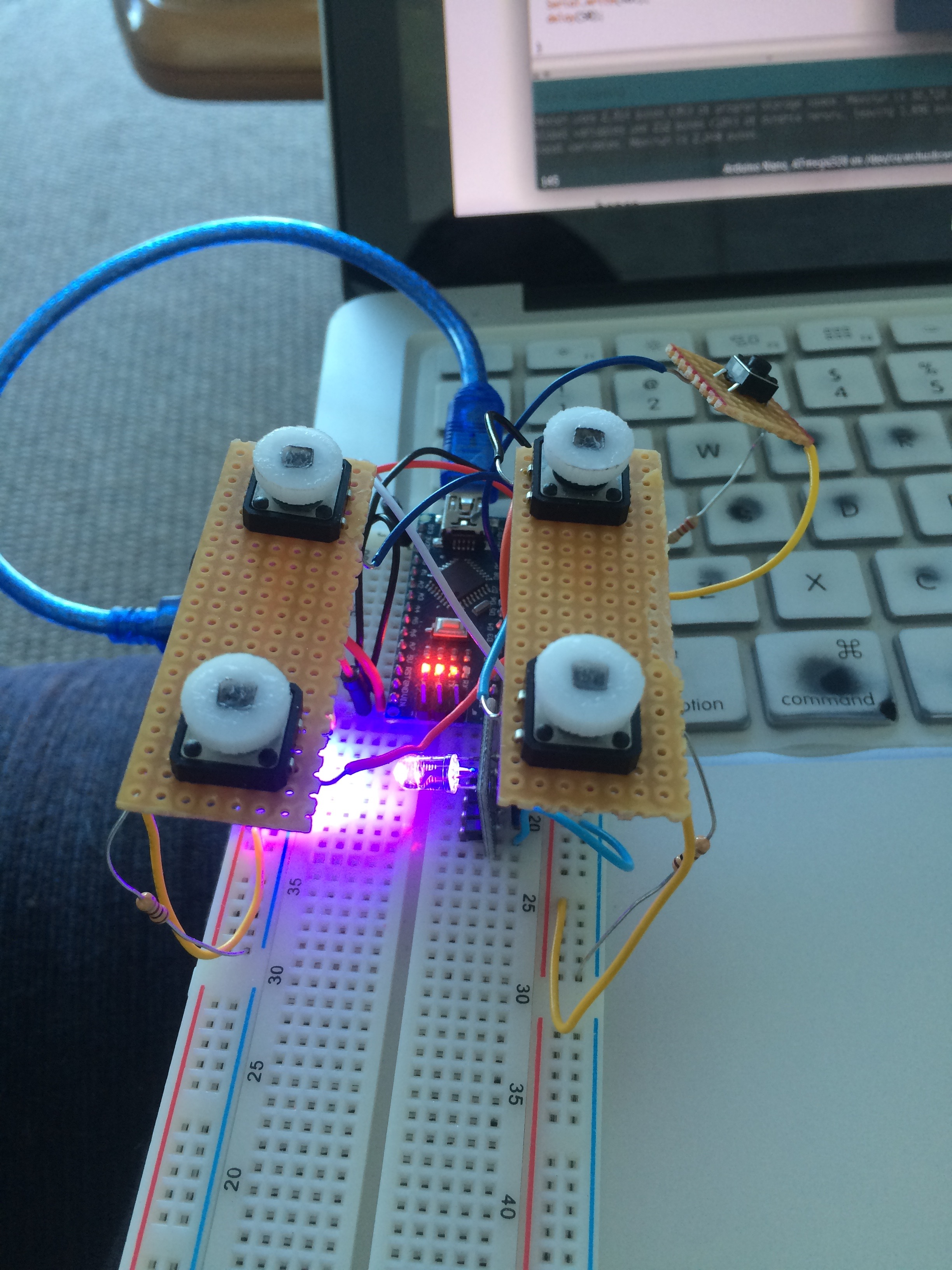 Picture of Prototyping the Circuit