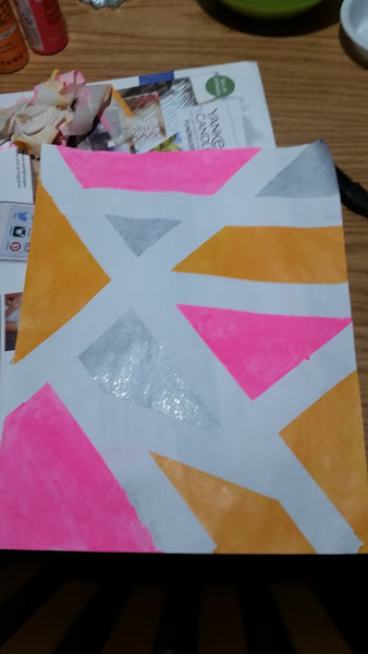 Picture of Painting a Geometric Portrait