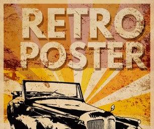 How to Make a Retro Poster