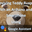 Phone+Arduino Controlled Teddy Ruxpin
