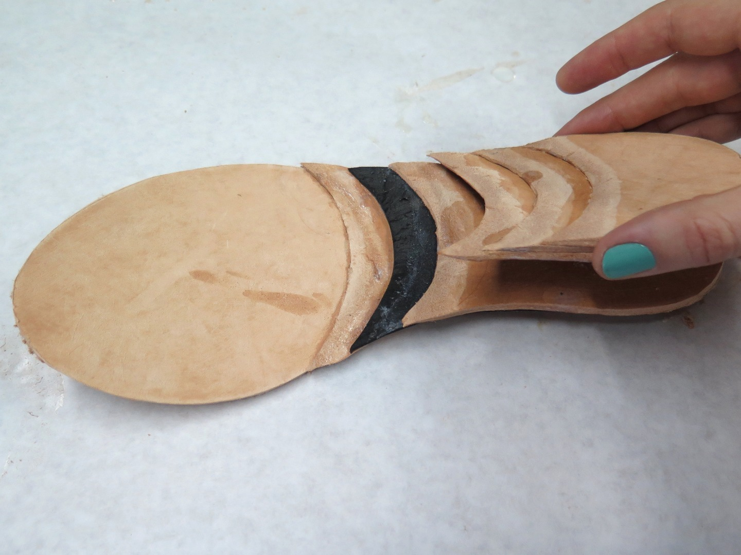Picture of Assembling the Heel