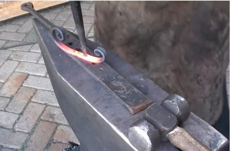 Separating the 3 Components and Forging Them to Size