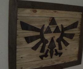 Zelda Theme wood wall art