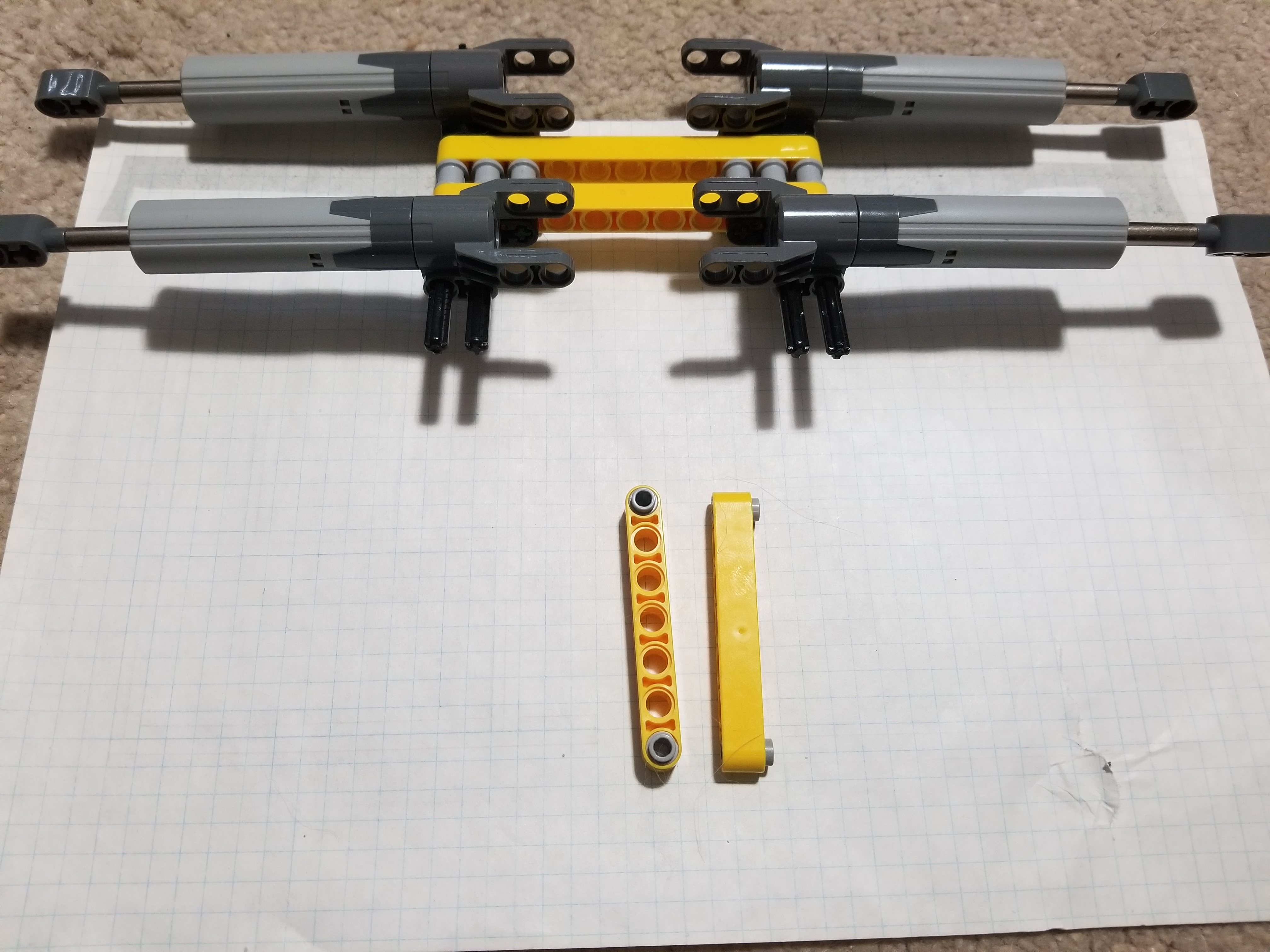 Picture of Adding and Attaching the Actuators