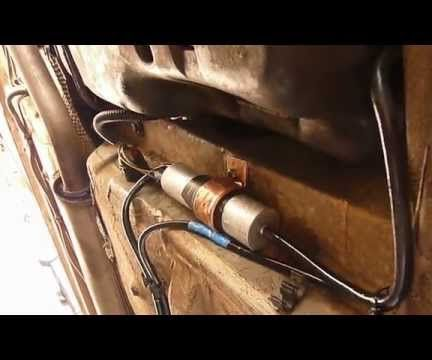 How to Convert Any in Tank Electric Fuel Pump to an External