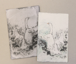 Make a Drypoint Print Using Recycled Cardboard