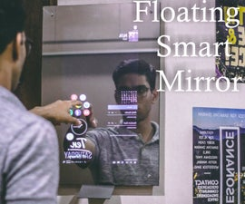 Floating Smart Magic Mirror From Old Laptop