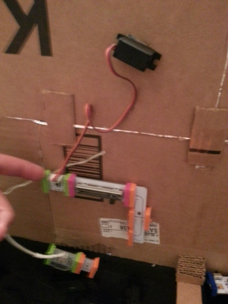 Picture of Add Hovering Helicopter Using the Servo and Slide Dimmer Bit