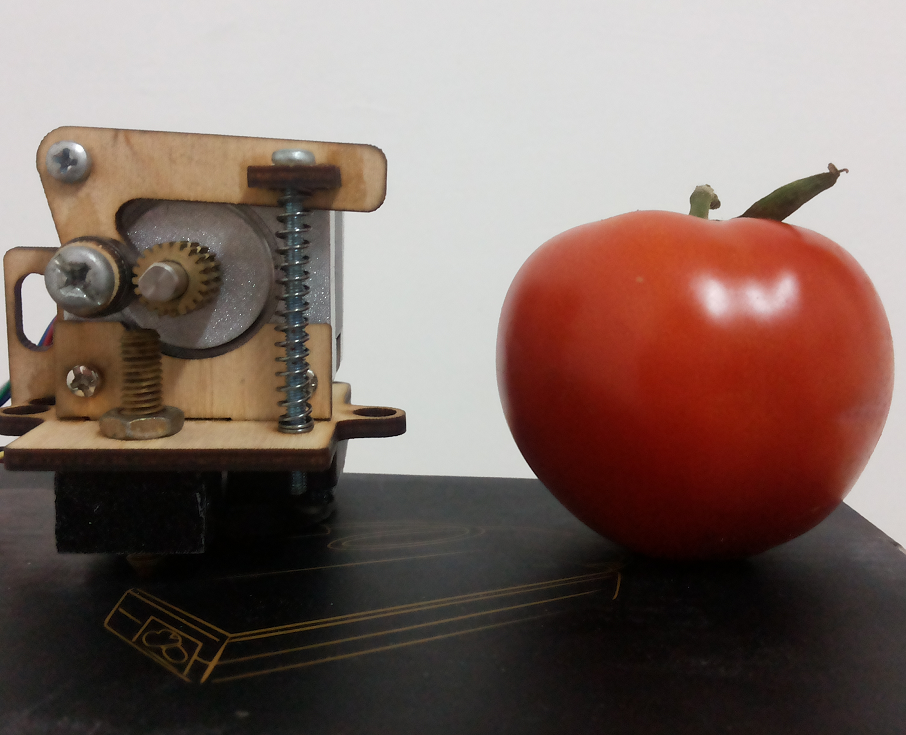Picture of Simple, Low Cost, Compact, Open Source Extruder. ATOM 3D Printers